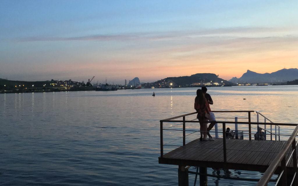 Baía de Guanabara vista de São Gonçalo – Ilha das Flores
