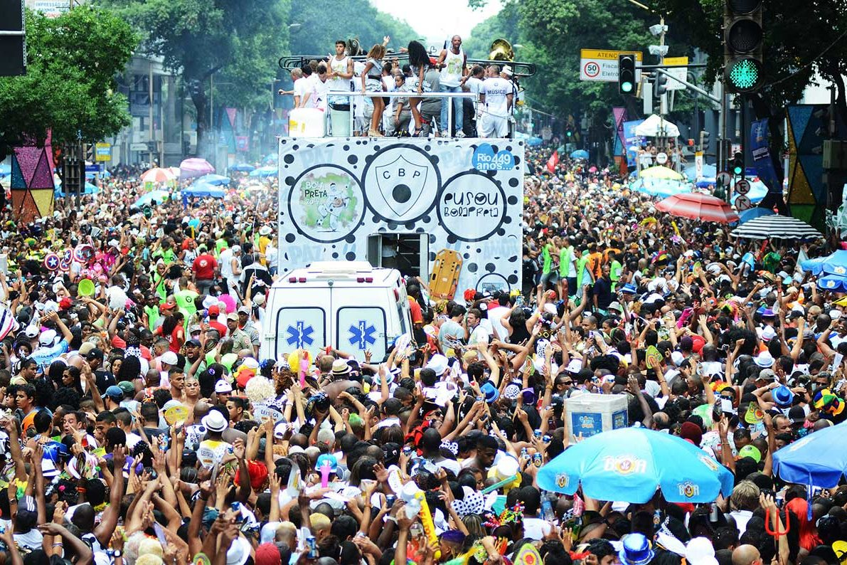 Cordão do Bola Preta na Avenida Rio Branco