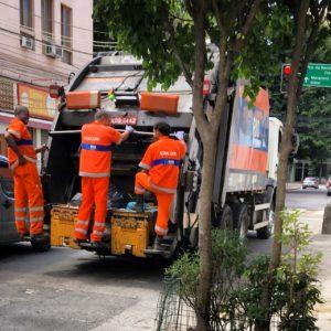 Coletores de Lixo na Tijuca